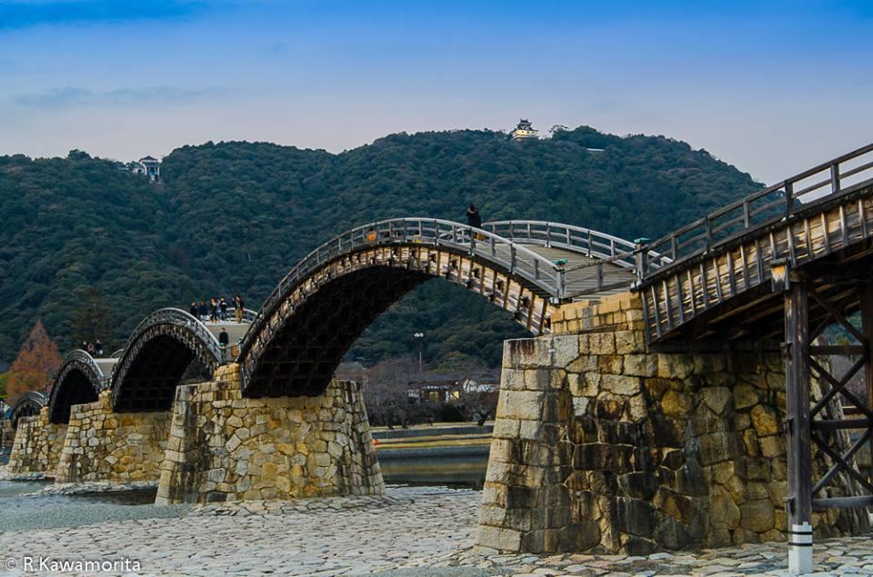 Tesouro Nacional : Kintai-kyo Bridge de Yamaguchi-ken Ricardo Kawamorita