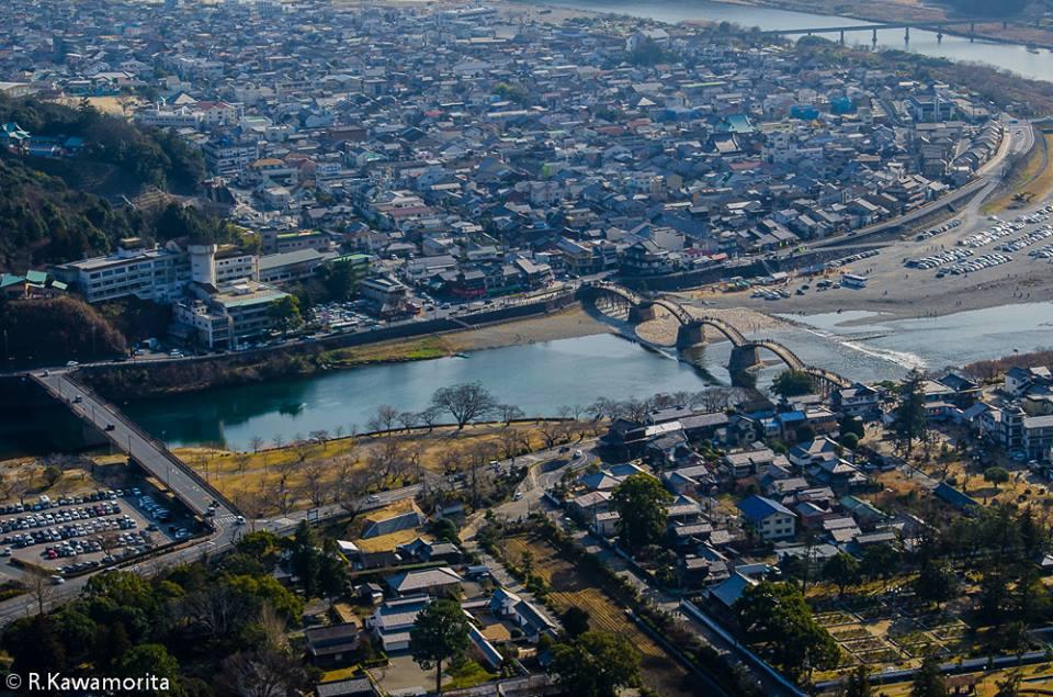 Ricardo Kawamorita Yamaguchi Iwakuni Tesouro Nacional : Kintai-kyo Bridge de Yamaguchi-ken
