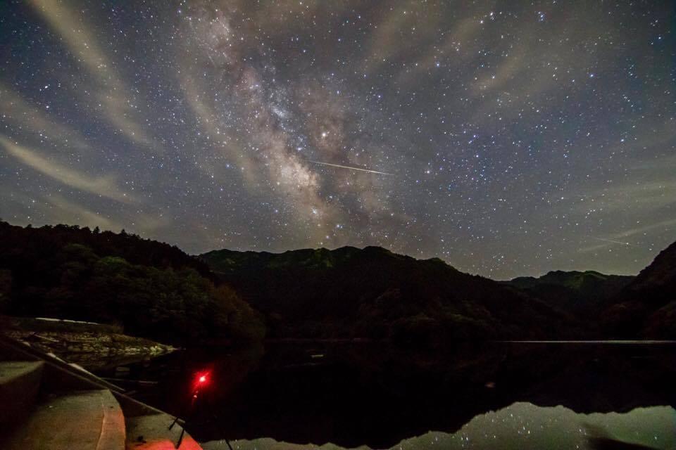 Ney Mitsuki Siguimoto, astrofotografia, chuva de meteoros, Perseidas, azblog, azblogjapao