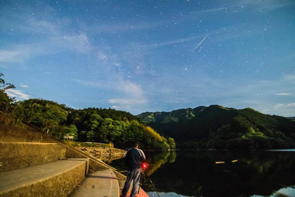 astrofotografia, Ney Mitsuki Siguimoto, azblog, azblogjapao, chuva de meteoros, meteoros, Perseidas