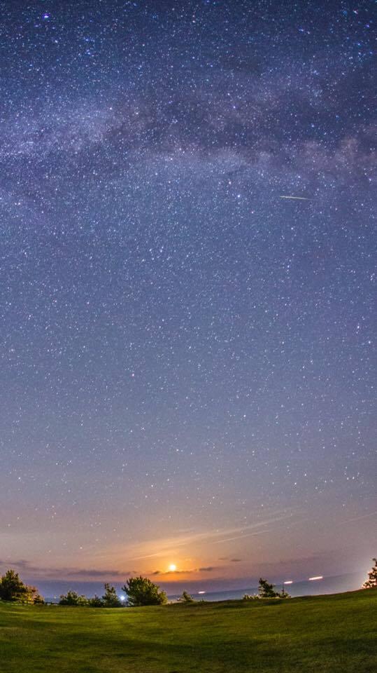 Ney Mitsuki Siguimoto, astrofotografia, chuva de meteoros, Perseidas, azblog azblogjapao