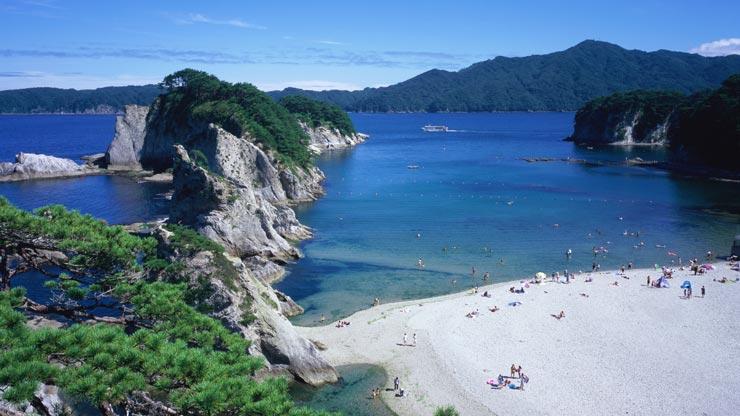 Jodogahama Beach, Miyako, Iwate, azblog, azblogjapao,
