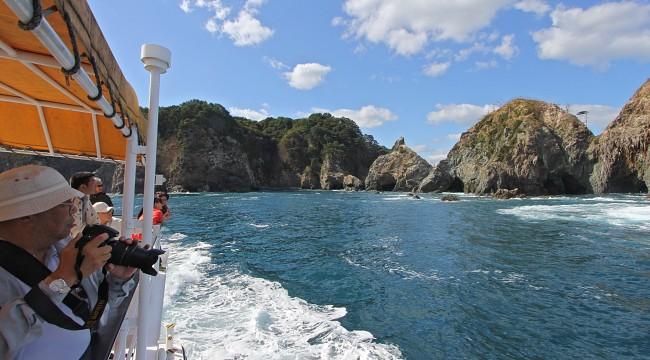Miyako Jodogahama Boat Cruise fonte: japan-guide.com