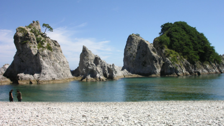 Miyako, Iwate, azblog, azblog japao, Jodogahama Beach