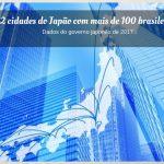 brasileiros no japao, cidades do japao