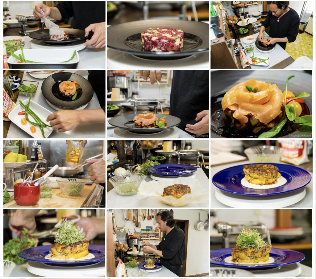 workshop, fotografia, chef Jin Takahashi, fotografa Marisa Umekawa, Marcio Uda, Life Style Studio, Hamamatsu, gastronomia, brasileiro no japao, artista plastico