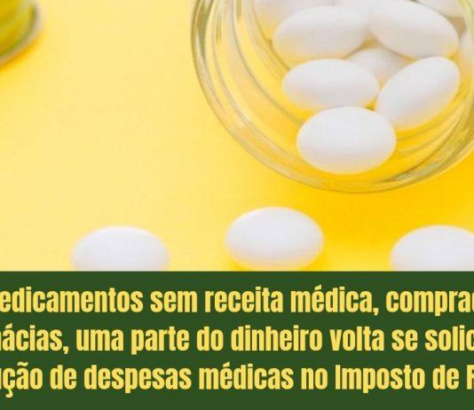 Remédios comprados na farmácia podem ter restituição no Imposto de Renda